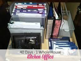 kitchen office organization ideas. 158 best home office organization images on pinterest paper organizing ideas and kitchen w