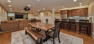 Basement Remodel Designs Amazing Before After Family Friendly Basement Finishing In Naperville