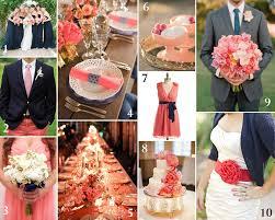 Coral Color Combinations Navy Blue And Grey Wedding Color Navy And Coral Wedding
