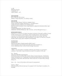 Legal Resume Templates Fascinating Paralegal Resume Template 48Free Word PDF Documents Download