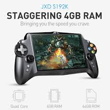 JXD S192K Handheld Game Thủ 7 inch RK3288 Quad Core 4 GB RAM 64 GB ROM  GamePad 10000 mAh Android5.1 Tablet PC Video Game Console|Máy Chơi Game Cầm  Tay
