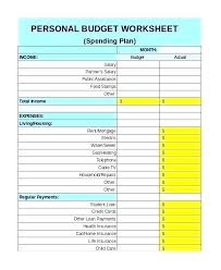 Monthly Income And Expenses Monthly Household Budget Template Expense Home Income