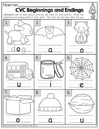 Free Kindergarten Language Arts Worksheets Thanksgiving ...