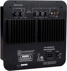 Dayton Audio SPA1000 1000W Subwoofer Plate Amplifier: Electronics -  Amazon.com