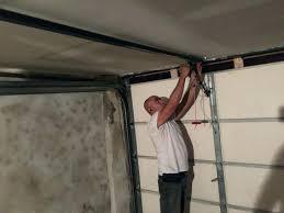garage door opener mounting bracket installation reinforcement genie wall
