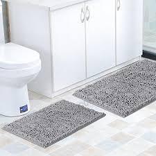 flamingo p super soft microfiber bathroom rugs non slip bath mat for kitchen bedroom 17