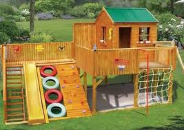 We have a large range for easy DIY playhouse kits and designs, like the  Kookaburra Loft Cubby House, for your kids backyard playground ...