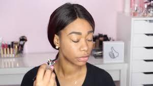 luminess airbrush makeup review demo chimerenicole