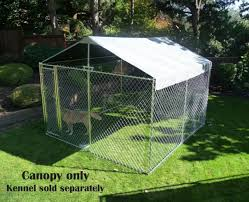 large dog house kennel cage cover shade pen shelter outdoor pet canopy top 10x10