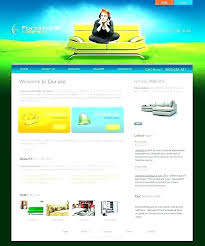 A Photo Gallery Mobile Website Template By Web Page Free Art
