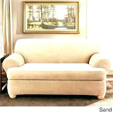 2 cushion couch two sofa slipcover piece t cotton box 3 seat