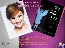 Three Little Words Powerpoint |authorSTREAM
