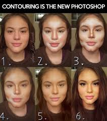 makeup highlighting contouring face fashion selectastyle highlight contour