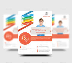 school flyer by rtralrayhan graphicriver 01 junior schoold education poster flyer template design for home service jpg