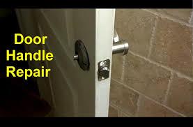 front door knob inside. Home Door Handles Loose Or Broken DIY Fixes - Repair Series YouTube Front Knob Inside