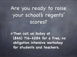 Get Regents Ready Raise Your Schools Regents Scores