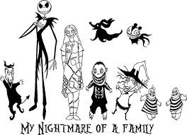 20 Free The Nightmare Before Christmas Coloring Pages To Print