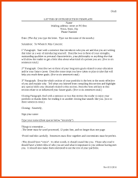 7 8 Sample Introduction Letter For A Job Formatmemo