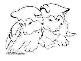 Free Coloring Pages Dogs Page Of A Dog Baby Husky Prairie Beautiful
