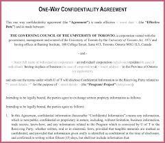 Secrecy Agreement Template | Hondaarti.org