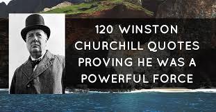 Winston Churchill Famous Quotes Custom Winston Churchill Famous Quotes Nice 48 Winston Churchill Quotes