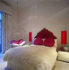 Swinging Chairs For Bedrooms Bedroom Pretty Modern Clear Round Hanging Chairs For Bedroom