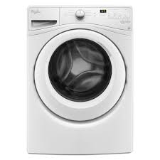 Cleaning Front Load Washing Machine Whirlpool 45 Cu Ft High Efficiency Front Load Washer In White