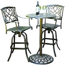 outdoor bistro table set tall