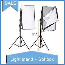 lighting soft box photography photo equipment photo studio kit 2pcs