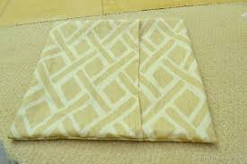 diy easy envelope pillow cover tutorial day 17 of 31 days of pinned to done