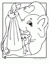 Small Picture Elephant Coloring Pages Animal Jr