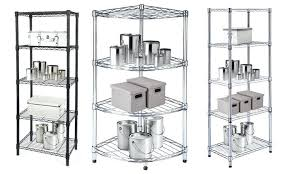 chrome wire shelving wall mount units costco