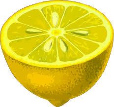 Clipart Half Lemon Low Resolution