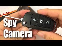 UYIKOO <b>Hidden Spy</b> Camera Fake Car <b>Key</b> Fob review - YouTube