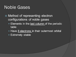 Orbital Notation, Noble Gas Notation, and Valence Electrons - ppt ...