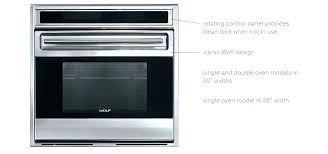 wolf appliance inc m series contemporary built in wall oven installation
