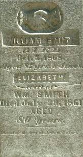 """Elizabeth """"Betsy"""" Smith Smith (1781-1861) - Find A Grave Memorial"""
