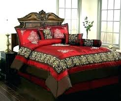 Bedroom Sets ~ Versace Bedroom Set Red And Black Bed Queen Gloss ...