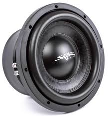 skar audio ddx watt rms car subwoofer