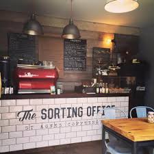 office coffee shop. the sorting office independent coffee shop cornwall c