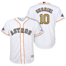 Fast Online Licensed Astros Gurriel Around Free Service Houston The Sale And Delivery World Shipping Yuli Jersey Best Official