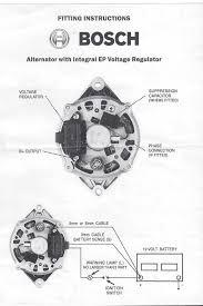 Bosch Internal Regulator Alternator Wiring Diagram Motor