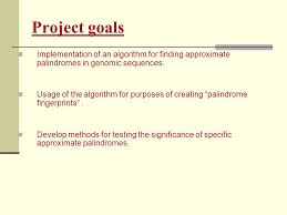Finding approximate palindromes in genomic sequences. - ppt download