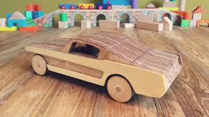 Diy Car Design How To Make A Wooden Toy Car Ford Mustang Gt Diy Toys