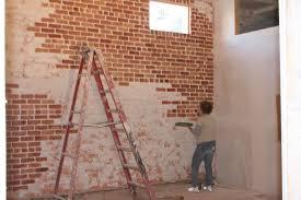Faux Brick Wall Painting Techniques Defendbigbird Com
