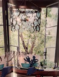 pottery barn chandelier funky emery recycled glass chandelier by pottery barn chandeliers design 22