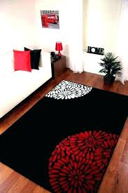 black and white modern area rug red black white rug red black white area rugs s