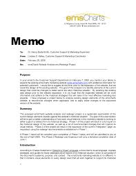 Project Memo Template Memorandum proposal business memo sample ready portray project 1