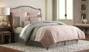 blush twin bedding gray and pink comforter set sets queen