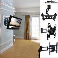 tv on wall corner. unho universal tilt swivel articulating corner tv wall mount bracket 22 -70 inch tv on wall corner a